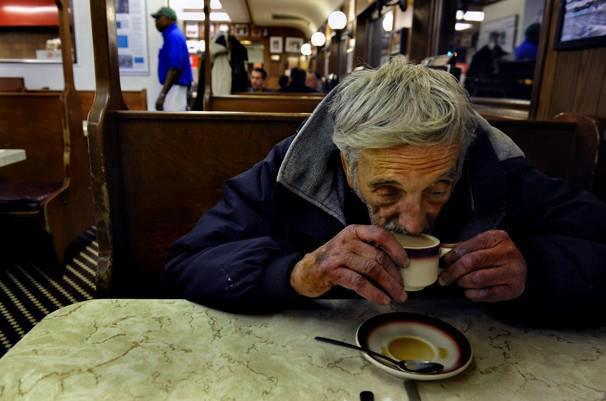 Human kindness – a warming coffee can make a world of difference