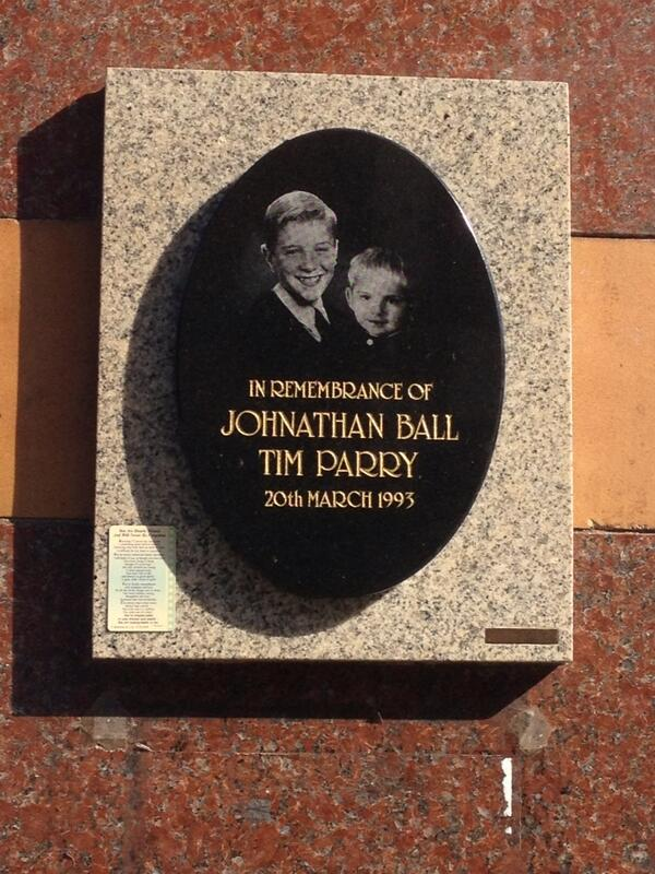 Never forgotten – IRA bomb victims Johnathan Ball and Tim Parry
