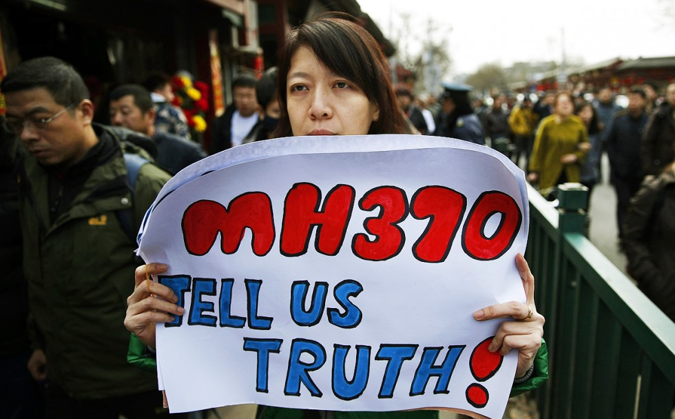 Will the facts ever emerge? - The wife of a passenger lost on MH370 campaigns for the truth.