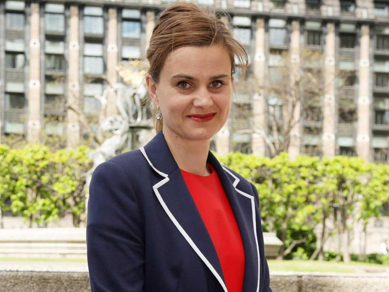 Rising political star - Jo Cox was destined to shine in Parliament for many years to come.