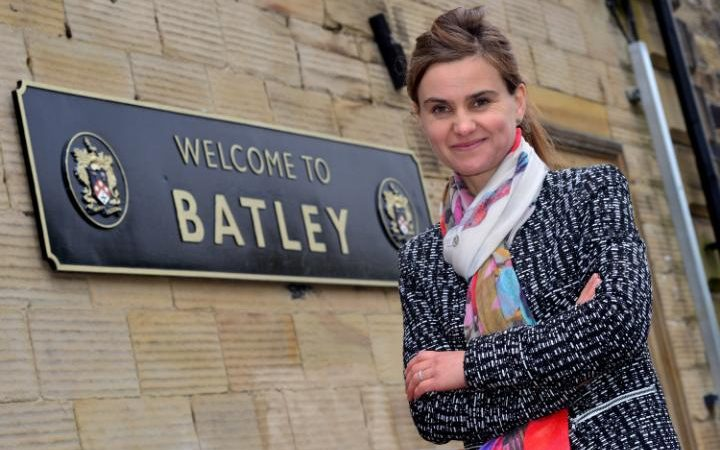 Yorkshire born & bred - Labour MP Jo Cox who was brutally murdered yesterday.